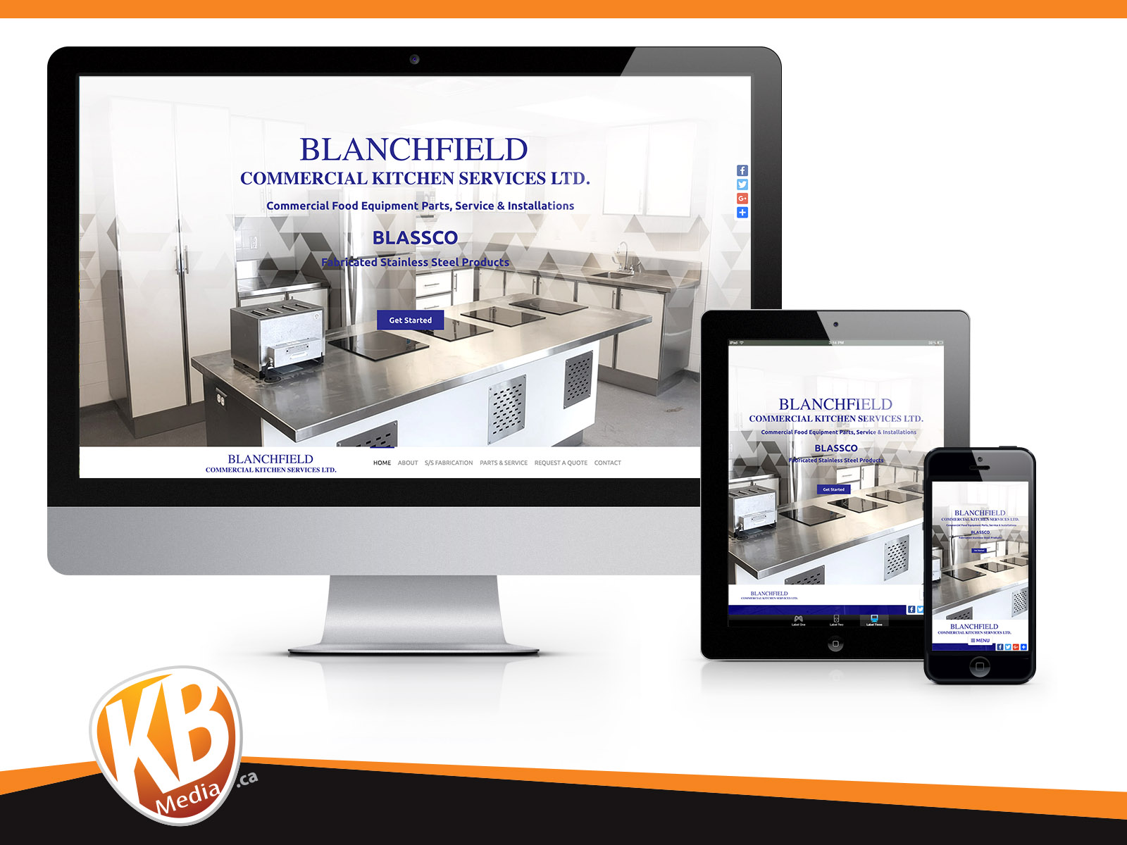 Blanchfield Commercial Kitchen Services Ltd Worry Free Web
